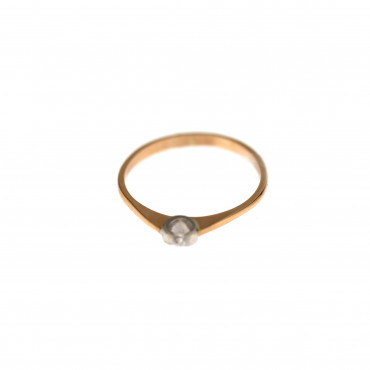 Rose gold engagement ring DRS01-05-11