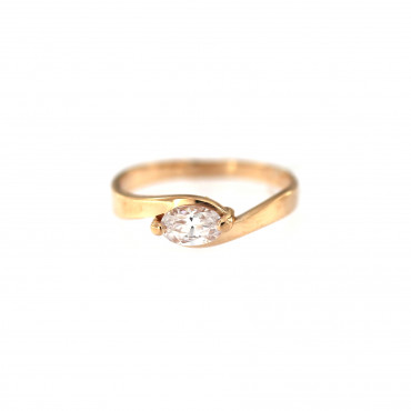 Rose gold engagement ring DRS01-11-02