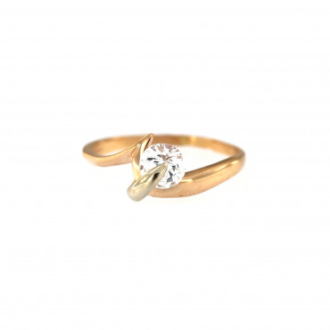 Rose gold engagement ring DRS01-11-07
