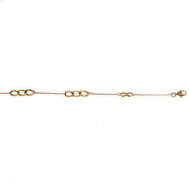 Rose gold anklet EK06-01