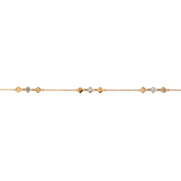 Rose gold anklet EK04-02