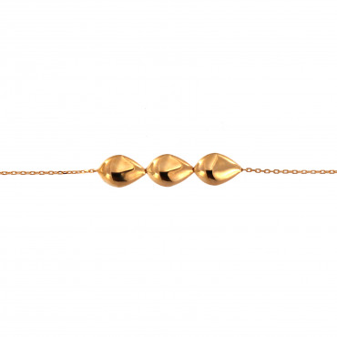 Rose gold anklet EK05-02