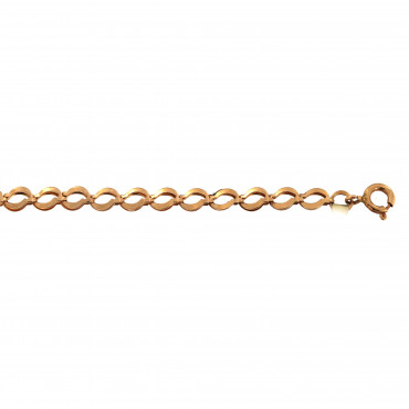 Rose gold bracelet ERZFP1-4.00MM