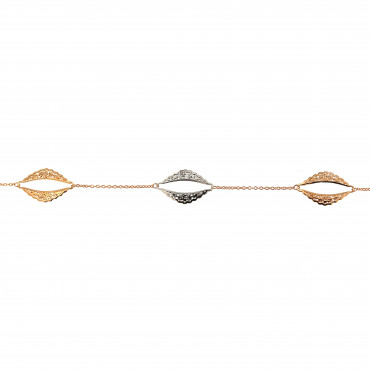 Rose gold bracelet ESP04-03