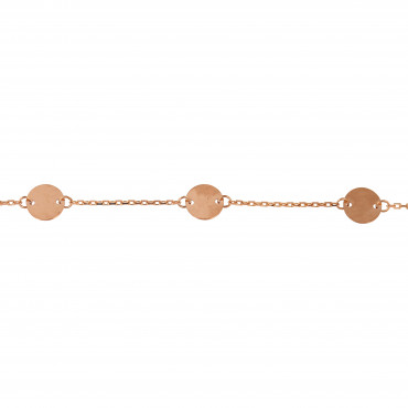 Rose gold bracelet ESP06-01
