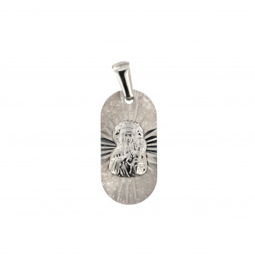 White gold icon pendant ABM01-02