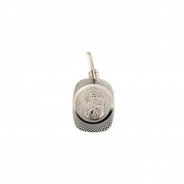 White gold icon pendant ABM02-02