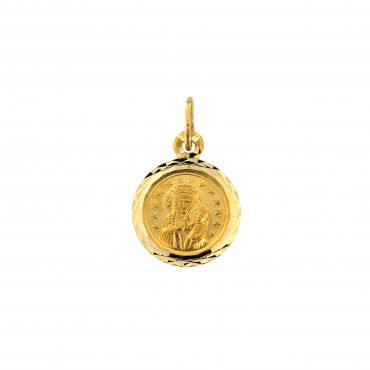 Yellow gold icon pendant AGMR04-01