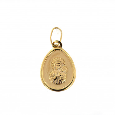 Yellow gold icon pendant AGMR05-01
