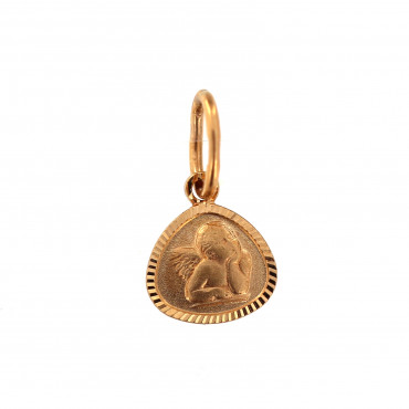 Rose gold angel pendant ARA02-05