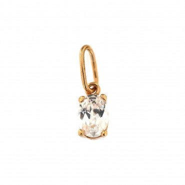 Rose gold zirconia pendant ARC05-02
