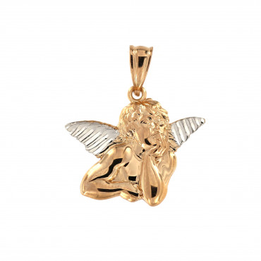 Rose gold angel pendant ARA01-01