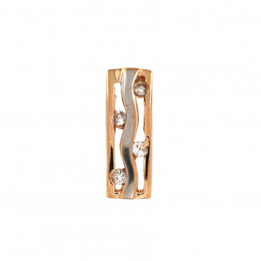 Rose gold pendant with zirconia ARBL01-05