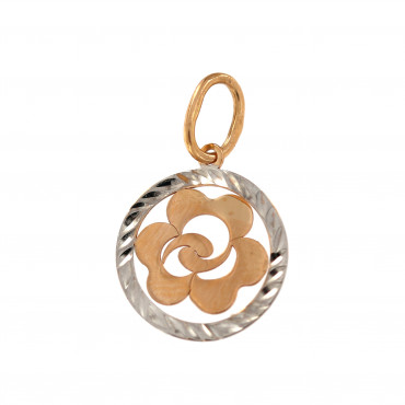 Rose gold pendant ARBL02-04