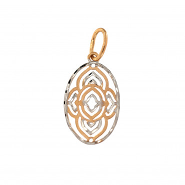 Rose gold pendant ARBL03-08