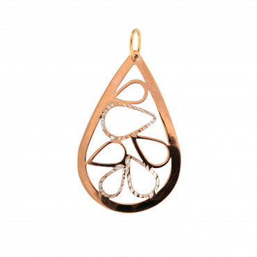 Rose gold pendant ARBL04-01