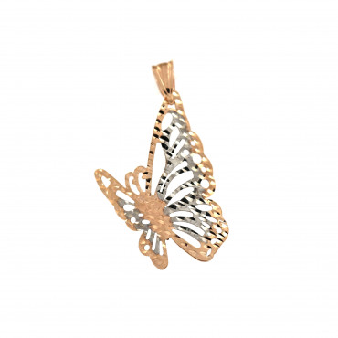 Rose gold butterfly pendant ARD04