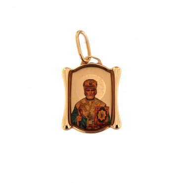 Rose gold icon pendant ARMR01-01
