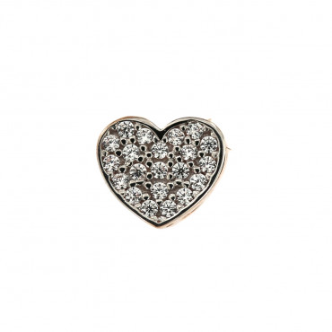 Rose gold heart pendant ARS02-25