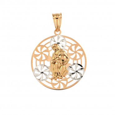 Rose gold Aquarius pendant ARH-VA-06