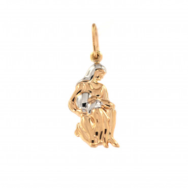 Rose gold Aquarius pendant ARH-VA-05