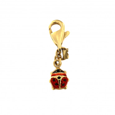 Yellow gold pendant AGG02-01