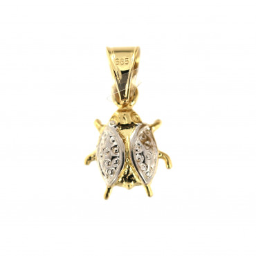 Yellow gold pendant AGG02-02