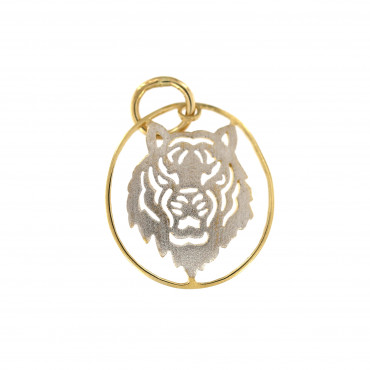 Yellow gold pendant AGG01-01