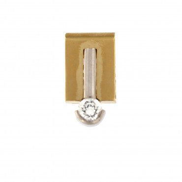 Yellow gold pendant AGBL01-01