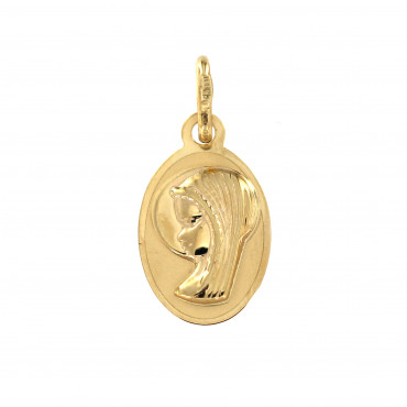 Yellow gold pendant AGM02-02