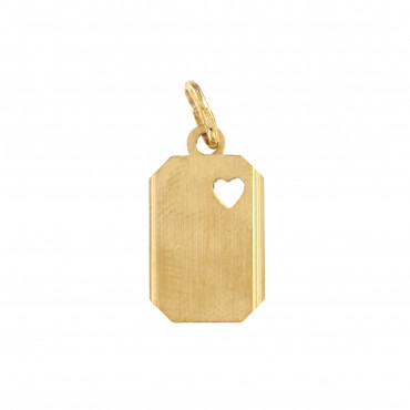 Yellow gold pendant AGPL03-01