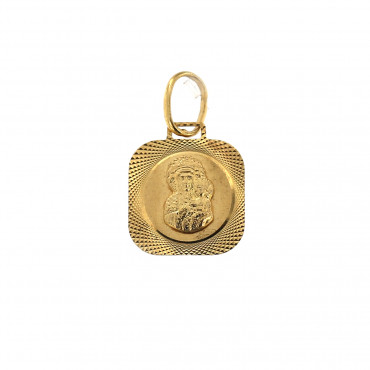 Yellow gold icon pendant AGMR02-01