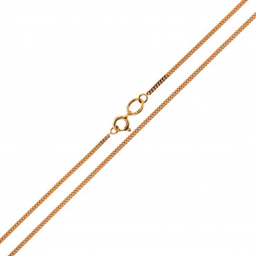 Rose gold chain CRG5-1.00MM