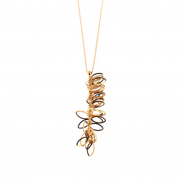 Rose gold pendant necklace CPR23-01