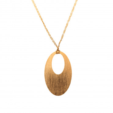Rose gold pendant necklace CPR23-02
