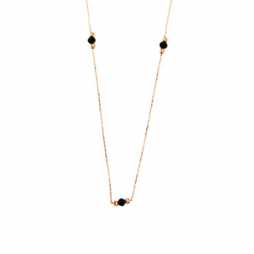 Rose gold pendant necklace CPR24-01