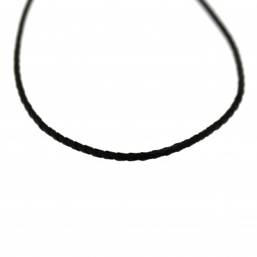 Leatherette necklace CPK02-01-1