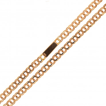Rose gold chain CRLGAR7-3.80MM