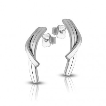 Silver earrings FID08-E035