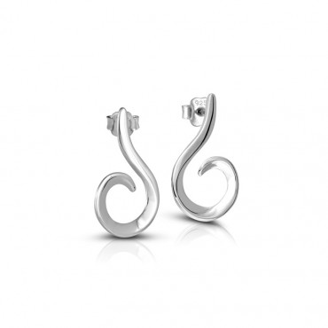 Silver earrings FID22-E01