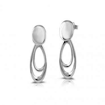 Silver earrings FID22-E02