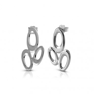 Silver earrings FID22-E05