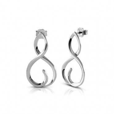 Silver earrings FID22-E08