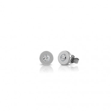 Silver zirconia earrings FIDCQ-E03