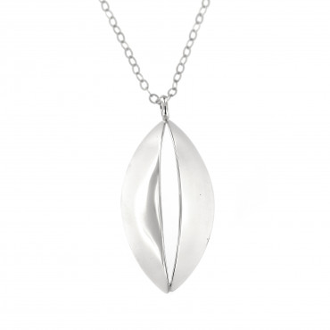 Sterling silver necklace pendant FID03-P086