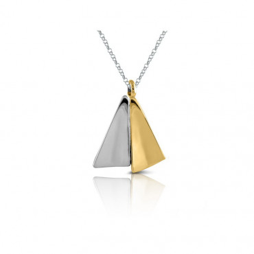 Sterling silver necklace pendant FID03MN-P027