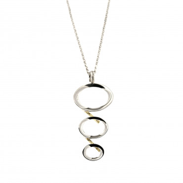 Sterling silver necklace pendant FID03MN-P035