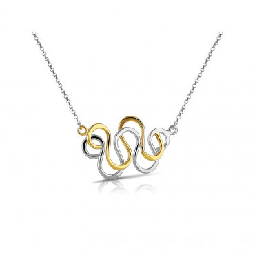 Sterling silver necklace pendant FID04-N05