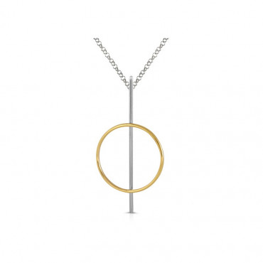 Sterling silver necklace pendant FID04-P036