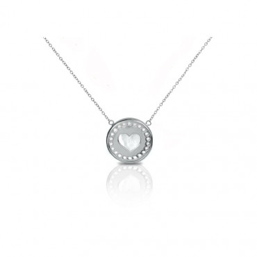 Sterling silver necklace pendant FID16-G3